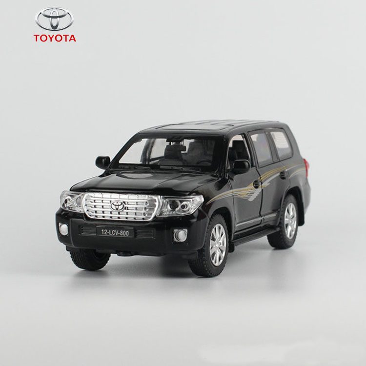 Super Cool Luxury Cars Toy Model TOYOTA LAND CRUISER Continental Model Pull Back Alloy Electronic Toys Car Juguetes(China (Mainland))