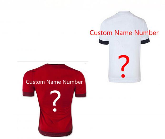 2015Real Madrid 15/16 Muniches ROBBEN football jersey 2016 RIBERY LEWANDOWSKI SCHWEINSTEIGER Bayerns white shirt red regime(China (Mainland))