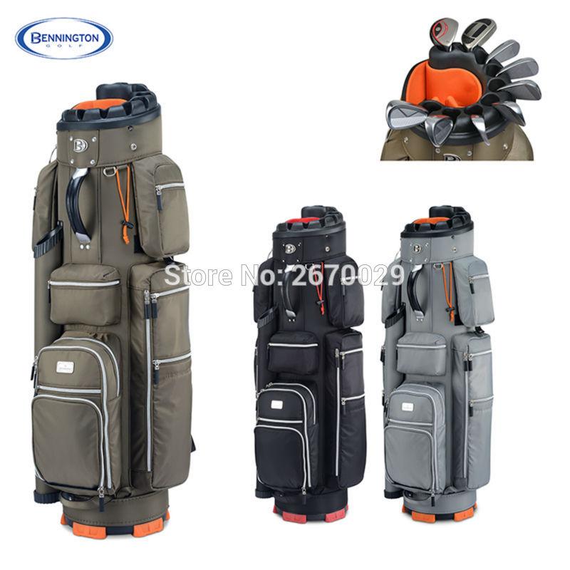 High Quality Bennington Golf bag Men's Espresso Cart bag A Specialist of Golf Clubs Protection EMS Free shipping(China (Mainland))
