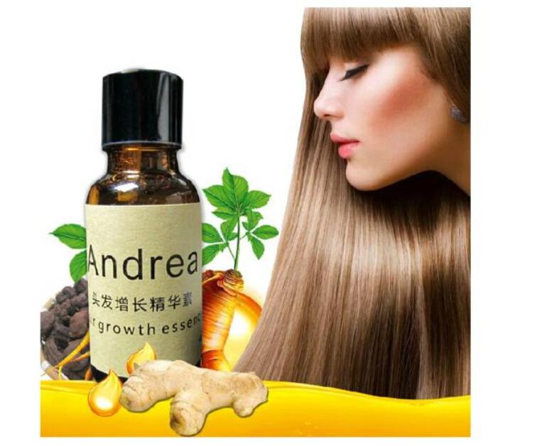 Andrea hair treatment medium Hair Growth Essence prevent Hair Loss Serum grow Restoration pilatory genuine essence TT01(China (Mainland))