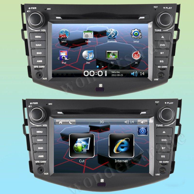 7 inch Car DVD Player GPS Navigation Toyota RAV4 RAV 4 + 3G internet access 2006 2007 2008 2009 2010 2011 2012 - HongKong Summit Trades & Technology Co., Ltd store