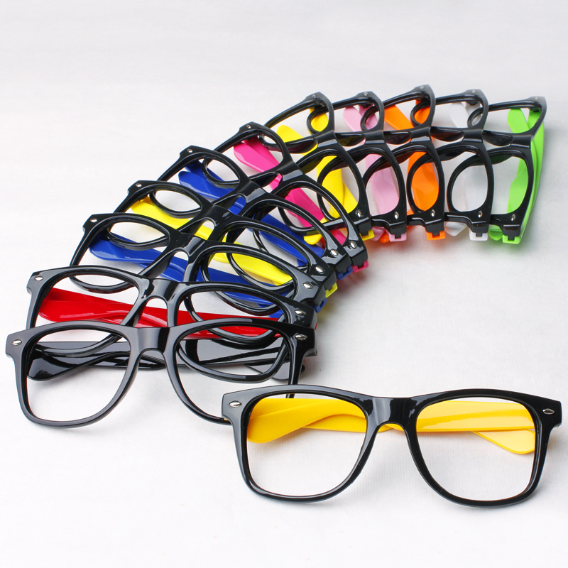 10 Colors available! Fashion Women Men Eye Frame Without ...