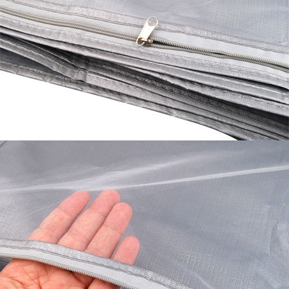 "Nice Price! 59-61"" Waterproof Wedding Dress Bridal Gown Garment Cover Storage Bag Carrier Zip(China (Mainland))"