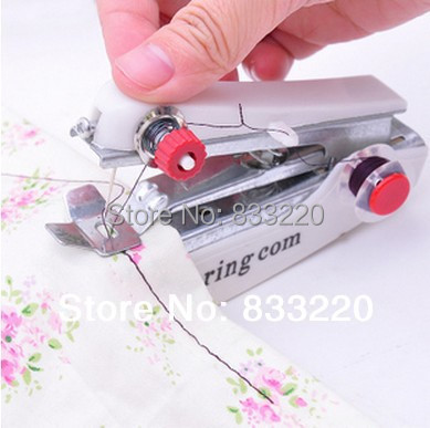 Manual Mini Sewing Machine Free Portable Small Pocket-Size 2 1 Knitting Machines Industrial Accessories Machinery Sew - Carly W 's store
