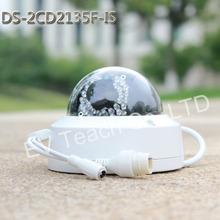 2015 New model DS-2CD2135F-IS replace DS-2CD2132F-IS & DS-2CD2132-I 3Mp Audio Alarm I/O interface Dome CCTV Camera POE IP H265(China (Mainland))