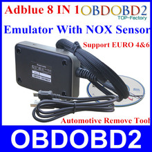 Newest ADBLUE Emulator 8 IN 1 V3.0 With NOX Sensor Emulator Supports Euro 4&6 Remove Tool For Ford and 7Kinds Truck OBD2 Scanner(China (Mainland))