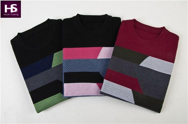 О-образным шею свитер мужской одежды мужская свитера вязать шерсти кашемировый пуловер мужчины марка тянуть Homme свободного покроя платье рубашка с длинным рукавом марка
