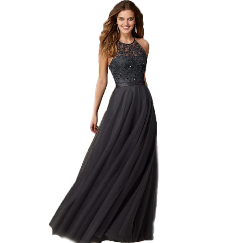 Online Get Cheap Grey Formal Dresses Long -Aliexpress.com ...