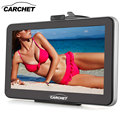 CARCHET Car 7 Inch Touch Screen GPS Navigation 128MB 8GB with West Europe Map FM Transmitter