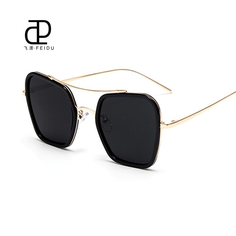 FEIDU-Vintage-Square-Sunglasses-Women-Brand-Designer-Retro ...