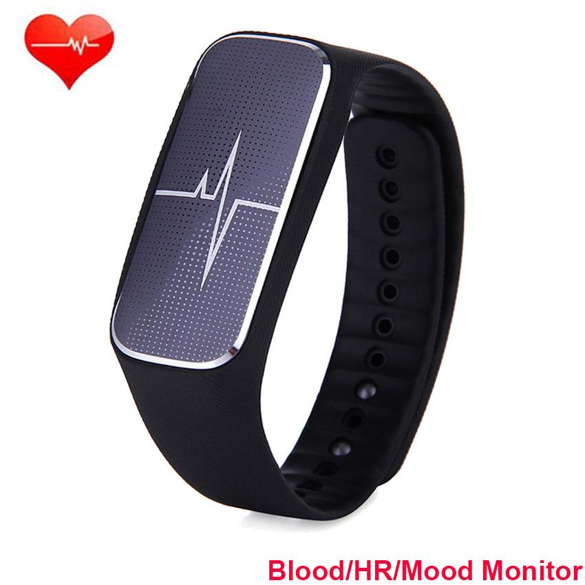 Hot Smart Wristband Heart Rate Blood Pressure Monitor ...