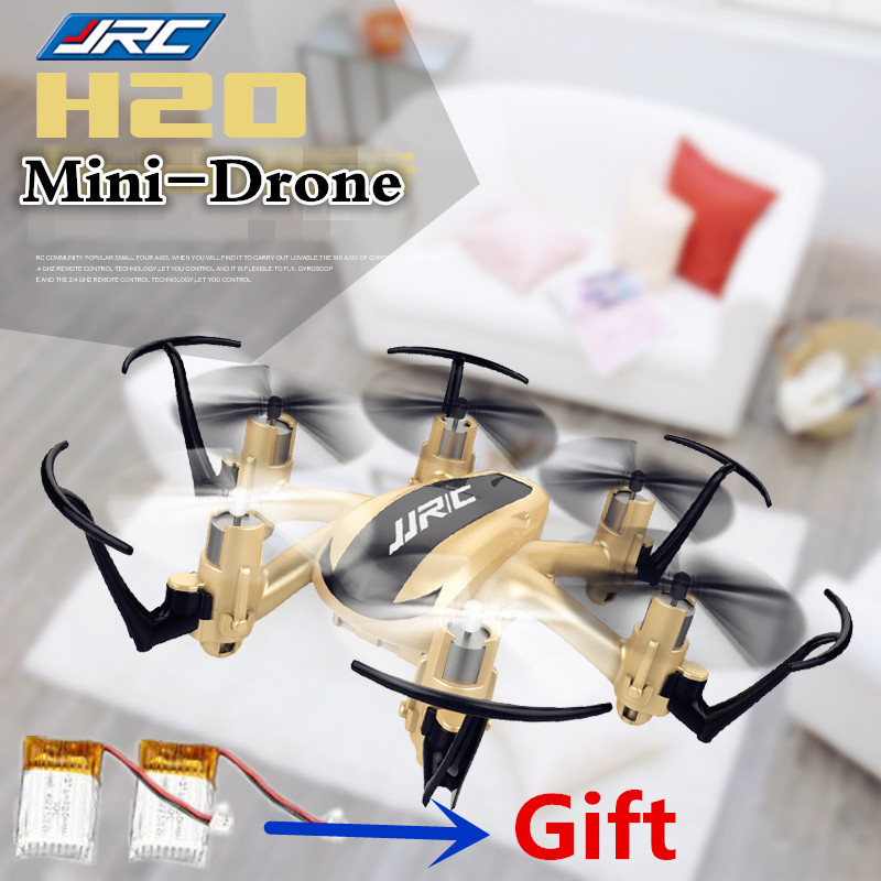 JJRC H20 RC Helicopter RC Quadcopter 2.4G 4CH 6Axis Headless Mode One Key Return RTF VS CX-10 professional drones Mini Drone