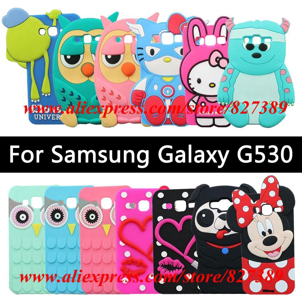 For Samsung Galaxy Grand Prime G530H Case Silicone M&M'S ...