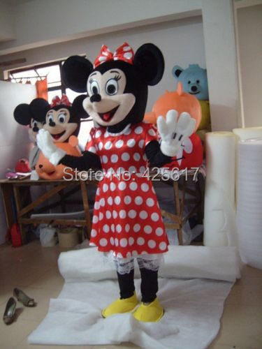 Hot selling! fashion beautiful dress miss little Mouse Fancy Dress Suit Outfit Animal Mascot Costume - Sam's World store