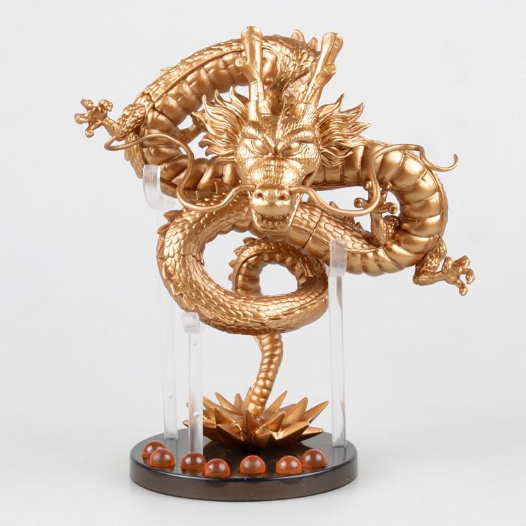 2016 New Gold Dragon Ball Z Dragons Boxed PVC Action font b Figure b font Model