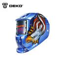 DEKOPRO Eagle Solar Auto Darkening MIG MMA Electric Welding Mask Helmet welder Cap Welding Lens for