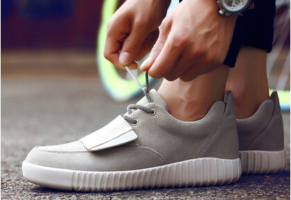 Hottest 2015 International brands Fashion Sneakers New Designer K West Shoes Y750 Boots Suede High Tops Flats Sneakers 38-46(China (Mainland))