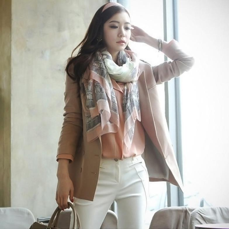 New fashion Women s Vintage Print Soft Long Scarf Wrap Shawl Pashmina L033532