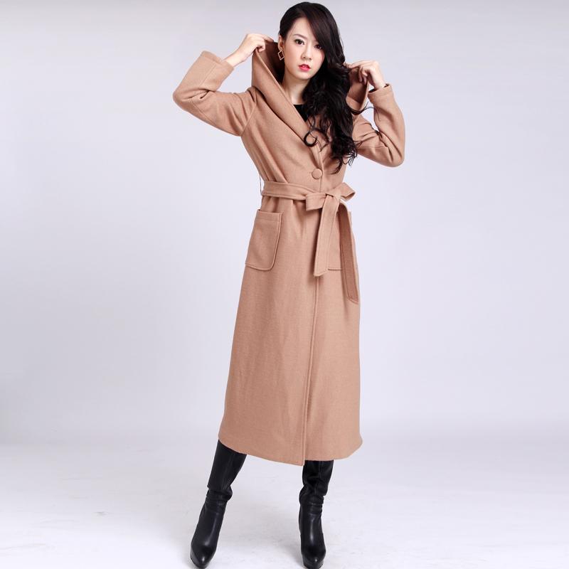 Hooded Wool Coat Photo Album - Reikian