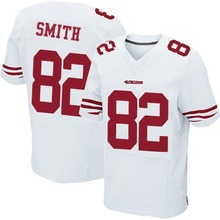 Men's #82 Torrey Smith Elite White Football Jersey 100% Stitched(China (Mainland))