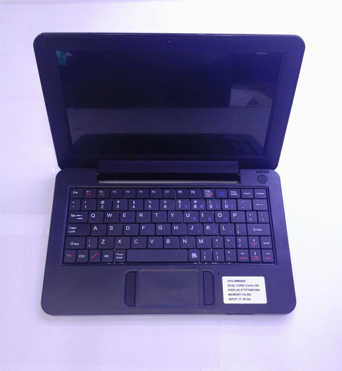 "New Arrival 9"" Mini Netbook Laptop Notebook WIFI Windows CE 6.0 2GB HD ,ship by EMS!!!(China (Mainland))"