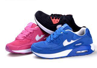 2015 New Fashion Air Max Soles Kids Sport Shoes Breathable Mesh Running Shoes Girls Sneakers In