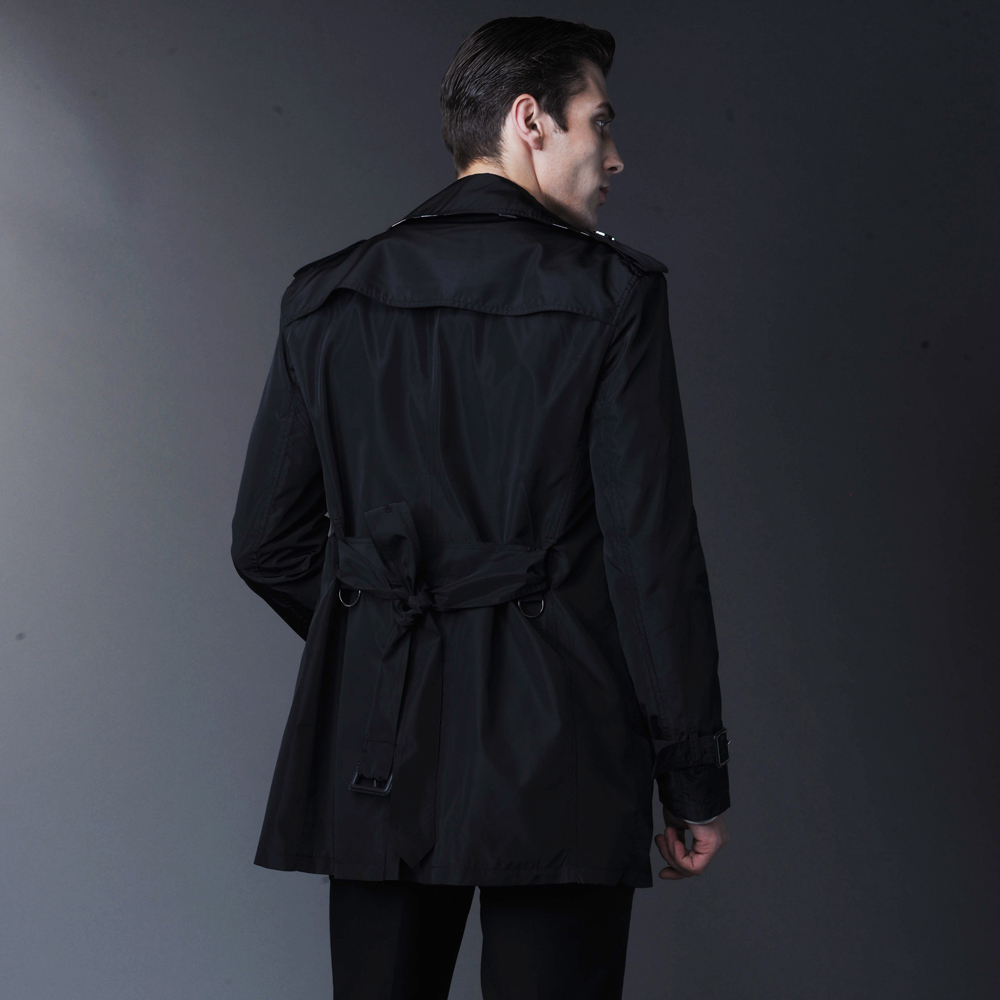 Mens Short Trench Coats - Tradingbasis