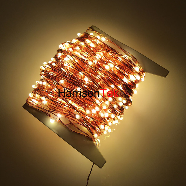Cheap The Longest Copper Wire String Lights 165ft/50M 500 Mini invisible LED Starry Fairy Light ...