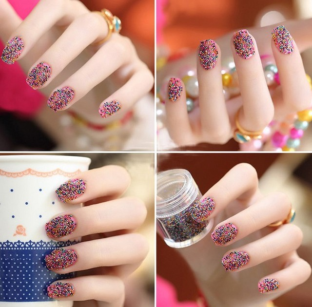 2013 Nail Beauty jewelry  Paillette luxurious  crystal Bling Bling 3D Nail Art Sticker