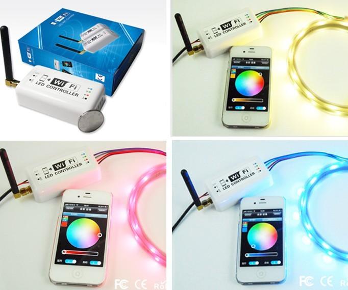 RGB контролер LED Optic Wifi iOS Android Wifi RGB RGB W-1P