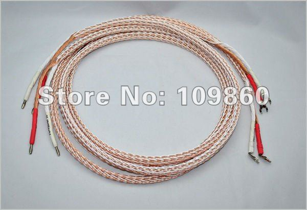 Kimber kable 12TC speaker cable audiophile speaker wires Single-biwire brand new 2.5M pair(China (Mainland))