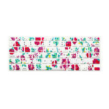 Colorful Flower Floral Silicone Laptop keyboard Skin Protector Cover film Guard for Apple Macbook Pro Air Retina 13 15 17