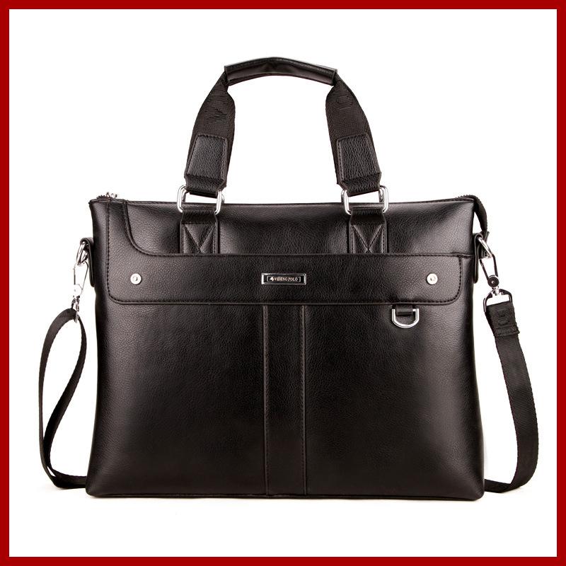 Men bag famous big satchel for men,casual business leather mens messenger bag,vintage fashion mens crossbody bag laptop bag(China (Mainland))