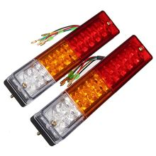 2x LED Stop Rear Tail Brake Reverse Light Turn Indiactor 12V Boat ATV Truck Trailer Lamp(China (Mainland))
