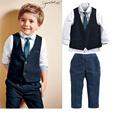 Boys Blazers Jackets Menino Tuxedo Kids Boys Weddings Suits Costume Enfant Garcon Mariage Vest Shirts Pants