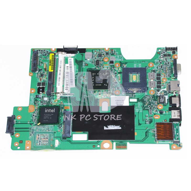 578232-001 Main Board For HP G60 CQ60 Laptop Motherboard 48.4FQ01.011 GL40 DDR2 with Free cpu(China (Mainland))