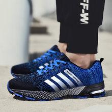 احذية الجري الرياضية احذية الجري الرجال زوجين حذاء كاجوال الرجال الشقق في الهواء الطلق أحذية رياضية شبكة تنفس المشي الأحذية رياضة المدربين(China)