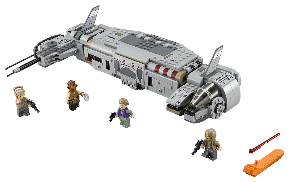 LEPIN Star Wars 7 Resistance Troop Transporter Figure Toys building blocks set marvel minifigures compatible legoe - Cy Super store