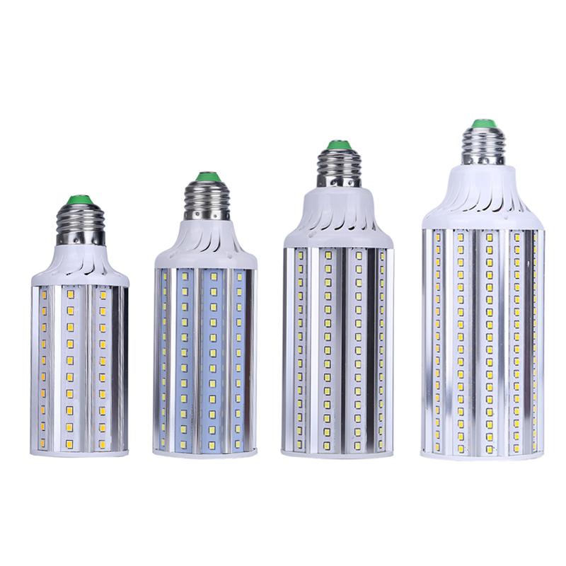 J89 High quality New SMD 2835 E26 E27 E40 LED 20W 28W 36W 50W LED bulb lamp 100-252leds, 20-50W LED Corn Bulb Light AC85-265V(China (Mainland))