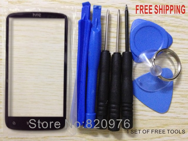 10pcs/Lot Original Outer LCD Touch Screen Lens Top replacement Glass FOR HTC Sensation 4G G14 Z710e 701+tools+Free Shipping