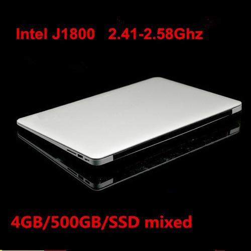 14inch laptop ultrabook notebook computer 1920*1080 HD 4GB DDR3 500GB USB 3.0 J1800 2.41Ghz WIFI HDMI webcam(China (Mainland))