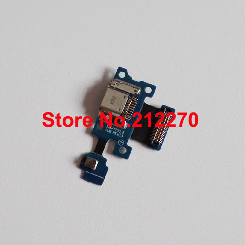 10pcs/lot New Charger Charging Port Dock USB Connector Flex Cable Ribbon For Samsung Galaxy Tab S 8.4 T705 Wholesale(China (Mainland))