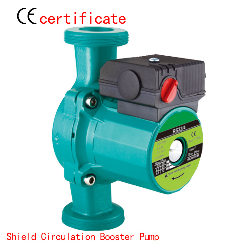 CE Approved shield circulating booster pump RS32-4, pressurized with industrial equipment, air condition, solar , warm water(China (Mainland))
