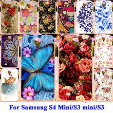 Soft TPU Hard PC Cases For Samsung Galaxy SIV Mini I9190 S4 mini/ SIII Mini I8190 S3 mini/ S3 S III i9300 Case Covers Shell Hood(China (Mainland))