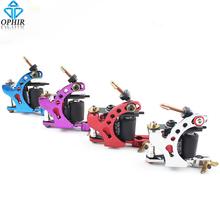 OPHIR 4pcs Pro Liner Tattoo Guns Dragonfly Rotary Tattoo Machine Gun 8 Wrap Coil Shader Liner Tattoo Supplies_TA018B-E(China (Mainland))
