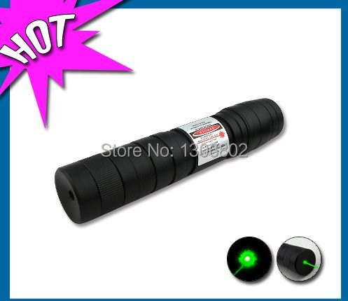 Free shipping, Top Laser 100mW 200mW 300mW 500mW Green Laser Pointer Adjustable Focal Length and with Star Pattern Filter(China (Mainland))
