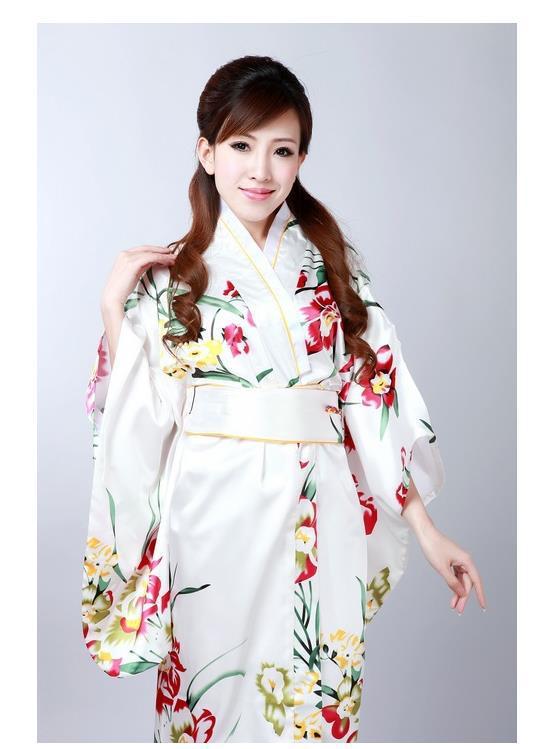 новые женщины шелк японские атласная кимоно