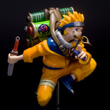 Free Shipping Anime Uzumaki Naruto PVC Action Figure Toy 23cm Naruto Collection Model Toy