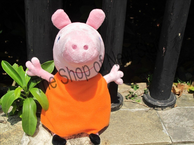 "New Hot Pig Mama Plush Doll Stuffed Toy Pig 30cm/11.7"" Gift Doll(China (Mainland))"