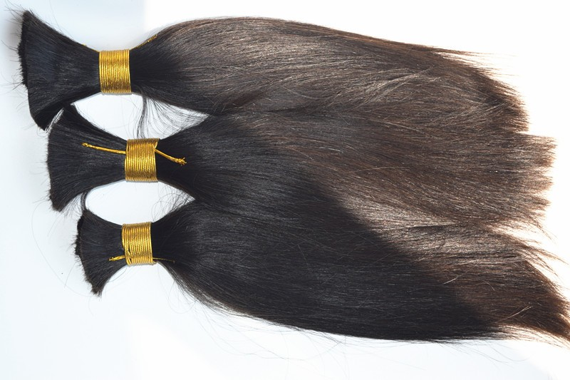 Unprocessed Bulk Brazilian Virgin Hair 100% Human Hair for Braiding Bulk No Attachment Braiding Hair Cabelo Humano